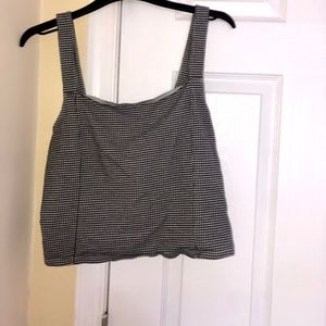 American Eagle outfitters plaid tank top